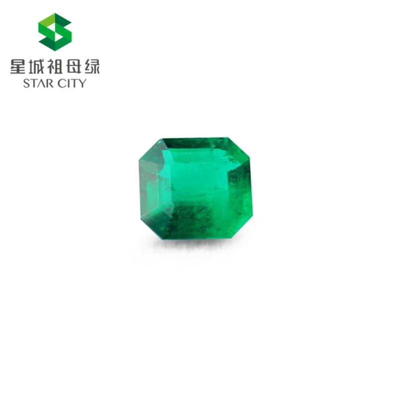 哥伦比亚 祖母绿裸石3.21克拉 GRS green Minor to Moderate