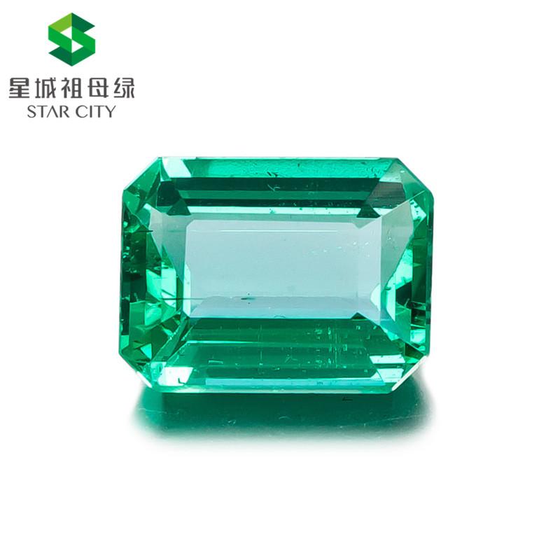 赞比亚 祖母绿裸石4.65克拉 GRS green None